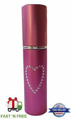 Pepper Spray Lipstick - Pink  Small - Discreet Self Defense  POLICE STRENGTH