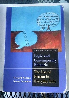 Logic and Contemporary Rhetoric  The Use of Reason in Everyday Life by Nancy M-