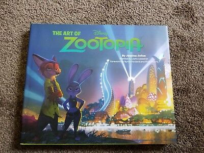The Art of Zootopia First Printing Signed by Director Byron Howard and 8 more