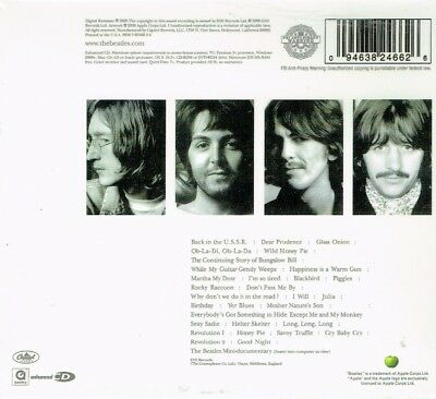 The Beatles  White Album  2 CD  New Sealed Fast Free Shipping