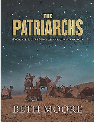 Beth Moore The Patriarchs Encountering the God of Abraham Bible Study 6 DVD Set