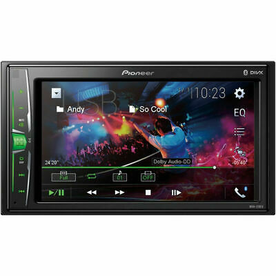 Pioneer MVH-210EX 2-DIN 6-2 Touchscreen Car Stereo Multimedia Receiver