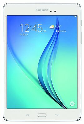 Samsung Galaxy Tab A 8 Android Tablet with 16GB Memory - MicroSD Slot in White