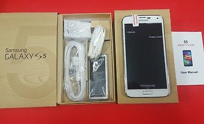 Brand New Samsung Galaxy S5 SM-G900A AT-T- GSM Unlocked 16GB Shimmery White