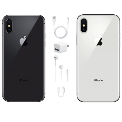 Apple iPhone X 256GB - GSM-CDMA Unlocked-USA Model-Apple Warranty-BRAND NEW