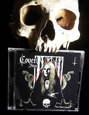 COVEN JINX ONLY AUTHORIZED NEW 2013 CDJinx hand signednumbered Witchcraft