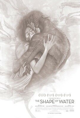 James Jean THE SHAPE OF WATER 13 X 20 Official Promotional Lithograph Poster