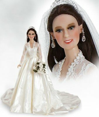 Paradise Galleries Catherine Kate Middleton 16 Wedding Doll 56002 New MINT