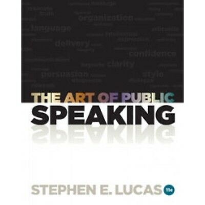 The Art of Public Speaking 11th Edition pdf with bookmark eDelivery