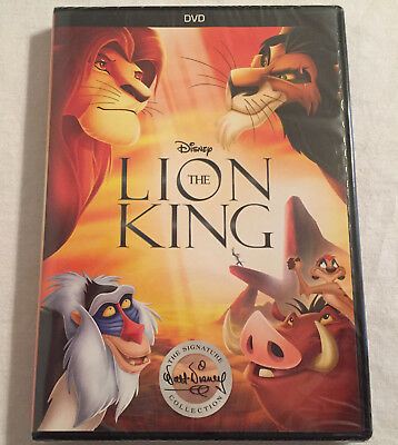 The Lion King DVD 2017 BRAND NEW - FREE SHIPPING TO THE US
