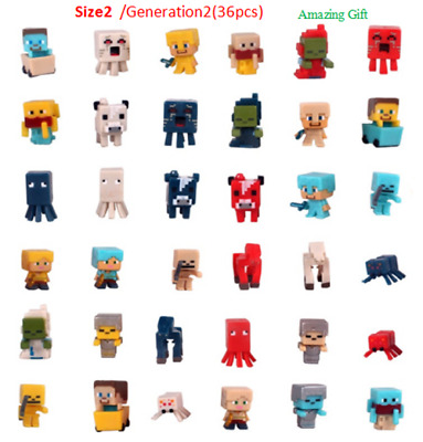 36pclot Minecraft Toys(Serials 2) Mini Action Figures Toys For your kids Gift