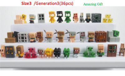 36pclot Minecraft Toys(Serials 3) Mini Action Figures Toys For your kids Gift