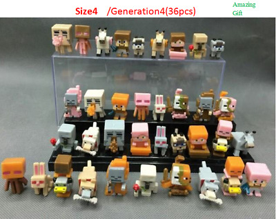 36pclot Minecraft Toys(Serials 4) Mini Action Figures Toys For your kids Gift