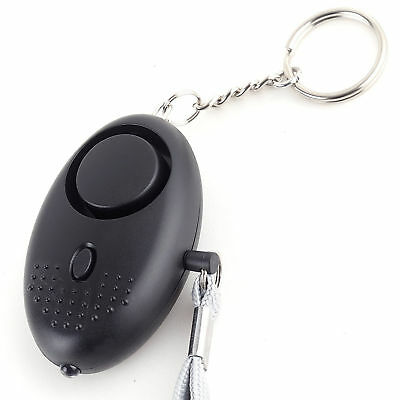 Personal Alarm Keychain 130db Safety Siren Song Emergency Security Alarms New