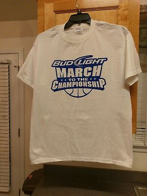 Bud Light NCAA March Madness College Basketball Shoot For The Championship Shirt