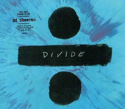Ed Sheeran - Divide New CD Deluxe Edition Free Shipping