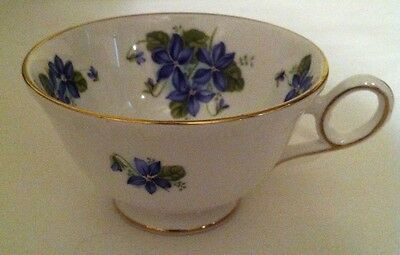Royal Grafton Fine Bone China Tea Cup only- Violets-Jacobean