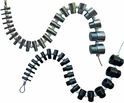 Nut and Bolt Thread Checker Complete SAEInch and Metric Set