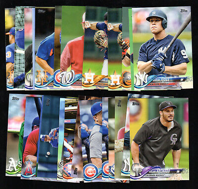 2018 TOPPS SERIES 1 SHORT PRINT VARIATION SP VAR COMPLETE YOUR SET YOU PICK