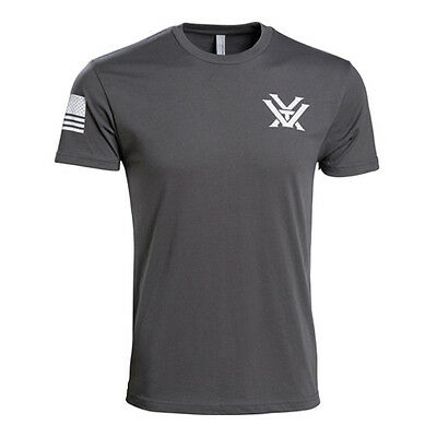 Vortex Optics Grey Patriot Shirt New