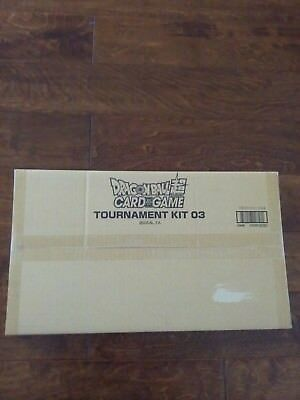 NEW Dragon Ball Super Official Tournament KIT vol- 3 factory sealed 26 packs