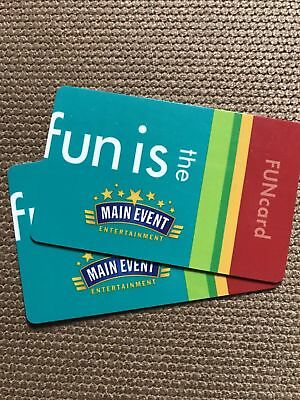 Main Event 200-00 Video Game Only Gift Card Funcard