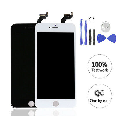 For iPhone 6s Plus LCD Display Touch Screen Digitizer Replacement Black or White