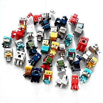 US Minecraft Toys Christmas Gift Toys action Figure 36 PCS Set 1-5 cm - 3 cm