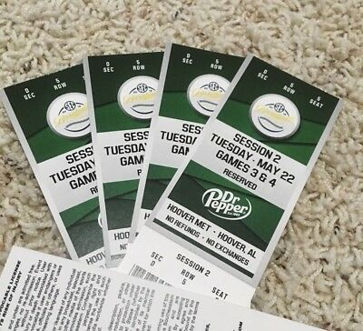 2018 SEC BASEBALL TOURNAMENT - SESSION 2 - MAY 22 GAMES 3 - 4 - SECTION D ROW 5
