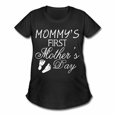 Pregnancy First Mothers Day Women's Maternity T-Shirt by Spreadshirt™
