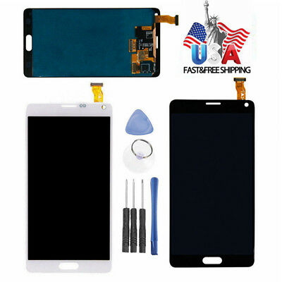For Samsung Galaxy Note 4 N910 LCD Touch Screen Digitizer Assembly Replacement
