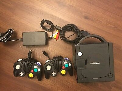 Nintendo GameCube Launch Edition Jet Black Console