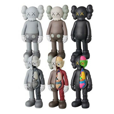KAWS COMPANION Flayed Open Dissected BFF 8 PVC Action Figures Toys US STOCK NEW