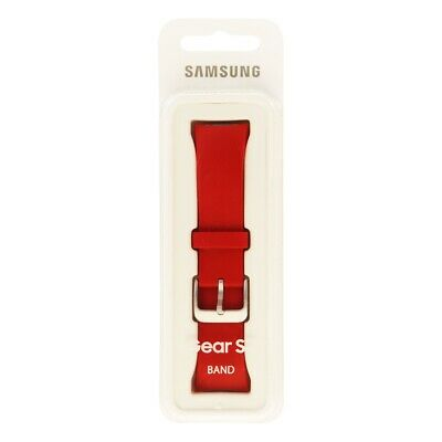 NEW Samsung Replacement Band for the Samsung Gear S2 Smartwatch - Red