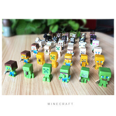 36pclot Minecraft Toys(Serials 1) Mini Action Figures Toys For your kids Gift
