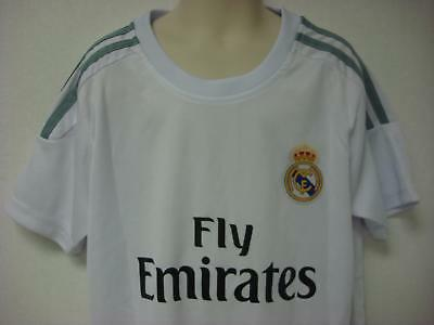 Ronaldo 7 Fly Emirates Real Madrid CF Soccer Jersey - Shorts Unisex Kids White