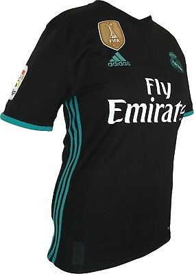 Real Madrid FC Womens Away Soccer Jersey New Adidas with FIFA Cup Winner Patch