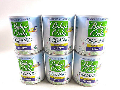 Babys Only Organic Dairy Formula 12-7 oz- PACK OF 6