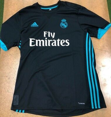 Adidas Real Madrid Away 201718 Authentic Replica Jersey New With Tags XL