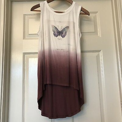 American Eagle Outfitters Soft And Sexy Hi Lo Top XS