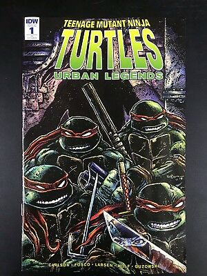 TMNT Urban Legends 1 110 Retailer Incentive Variant Cover by Kevin Eastman