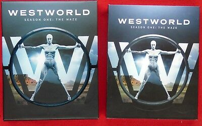 Westworld The Complete First Season Blu-ray Disc 2017 in case watched once