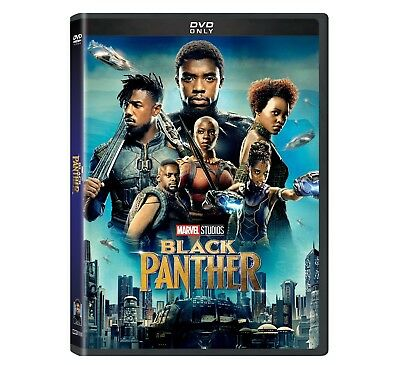 Black Panther DVD 2018 BRAND NEW - FREE SHIPPING