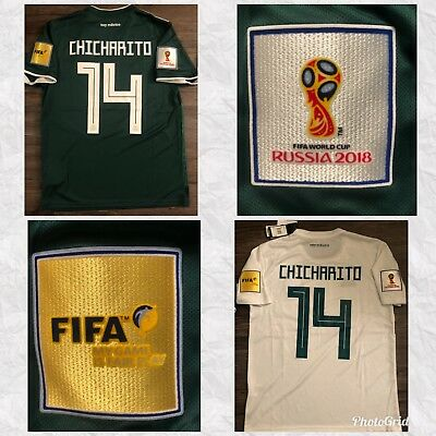 FIFA WORLD CUP 2018  CHICHARITO HERNANDEZ  MEXICO AWAY-HOME JERSEY
