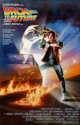 Back To The Future  LARGE 24X36 MOVIE POSTER Premium Poster Paper