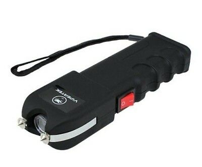 VIPERTEK VTS989 - 600 BILLION VOLT Rechargeable LED Stun Gun with Holster