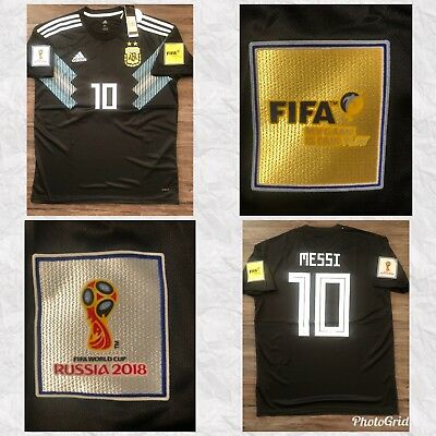 Argentina  Lionel Messi  Away Jersey  World Cup 2018