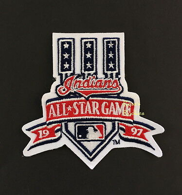 1997 ALL STAR GAME OFFICIAL MLB BASEBALL PATCH CLEVELAND