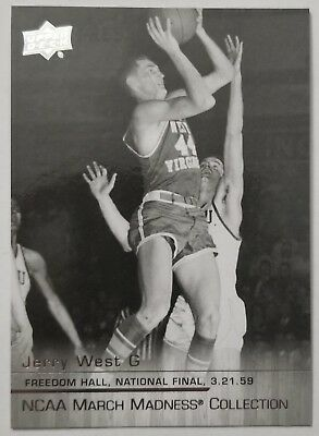 2014-15 Upper Deck NCAA March Madness Collection JW2 Jerry West - West Virginia