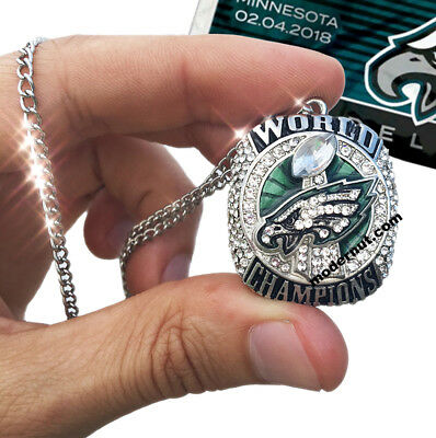 US SELLER Philadelphia Eagles Super Bowl Necklace 2-5 DAY DELIVERY GUARANTEED